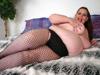 Fat enormous pale plump Ann from BBW Hunter