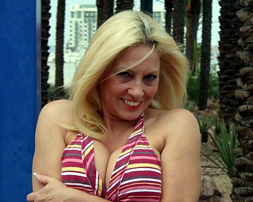 Milf fabulous busty mature Cala from Milfs Wild Holiday